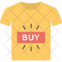 Buy Online Shirt Icon