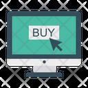 Buy Online Click Icon