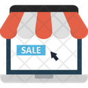 Buy Online Digital Marketing Ecommerce Sale Icon