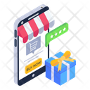 Buy Online Gift Icon