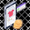 Buy Online Shirt Icon
