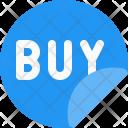 Buy sticker Icon