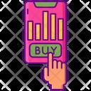 Buy Stocks Icon