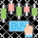 Buy Stocks Buystock Finance Icon