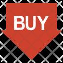Buy Label Tag Icon