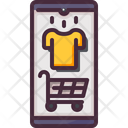 Mobile Store Online Store Shirt Icon