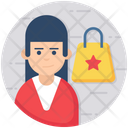 Buyer Seller Shopping Icon