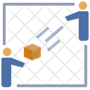 Buyer Seller Delivery Icon