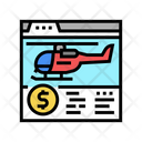 Buying Helicopter Online Icon