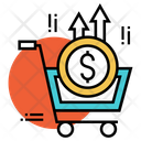 Buying Currency Shopping Cart Shopping Icon