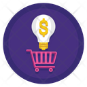 Buying Idea Idea Bulb Icon