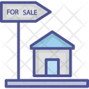 Buying Property Estate Business House For Sale Icon