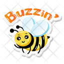 Buzz Bee Icon