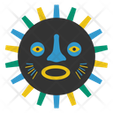 Bwa Mask African Culture Tribal Mask Icon