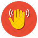 Bye Goodbye Hand Gesture Icon