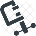 C Clamp Symbol Icon
