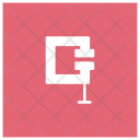 C Clamp Machine Press Icon