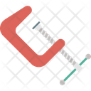 C Clamp Carpentry Clamp Compression Tool Icon