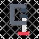 C Clamp Clamp Pressure Icon