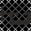 Metal C Clamp Furniture Icon