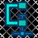 Clamp Clip Equipment Icon