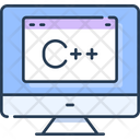C Plus Plus C Coding C Language Icon