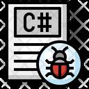 C Sharp File C Sharp Bug C Sharp Icon