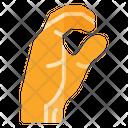 C Sign Icon