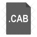 Cab File Format Icon