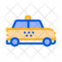 High Speed Online Taxi Icon