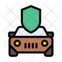 Cab Taxi Security Icon