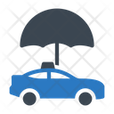 Cab Umbrella Taxi Icon