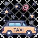 Cab Car Taxi Taxicab Icon