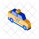 Taxi Car Online Icon