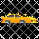Taxi Cab Automobile Icon