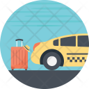Transport Cab Services Icon
