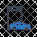 Mobile Phone Car Icon
