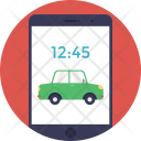 Cab Booking Car Icon