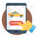 Cab Booking Cab Hiring Taxi Booking Icon