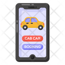 Cab App Car Booking Cab Booking Icon