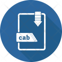 Cab File Format Icon