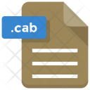 Cab File Paper Icon