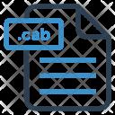 Cab File Sheet Icon