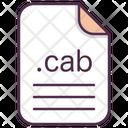 Cab File Document Icon