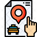 Pin Taxi Location Passenger Location Icon