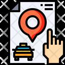 Cab location Icon