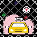 Cab Tracking Icon