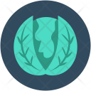 Cabbage Headed Vegetable Icon