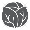 Cabbage Vegetable Health Icon