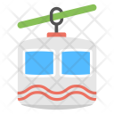 Chairlift Cable Transport Icon